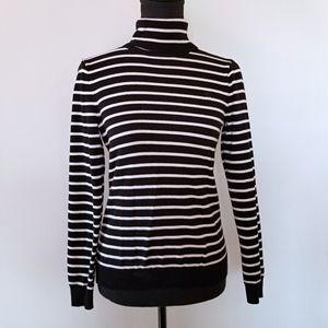 4/$25 Lauren Ralph Lauren PS stripe turtleneck